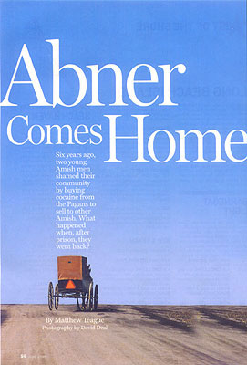 Abner Comes Home article cover for Super Lawyers Magazine