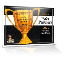 premio de finalista de los premios de elección de lectores 2009