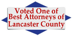 voted one of best attorneys of lancaster county logo