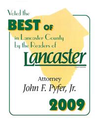 best of lancaster 2009 logo