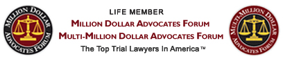 life member million dollar advocates forum and multi-million dollar advocates forum logos