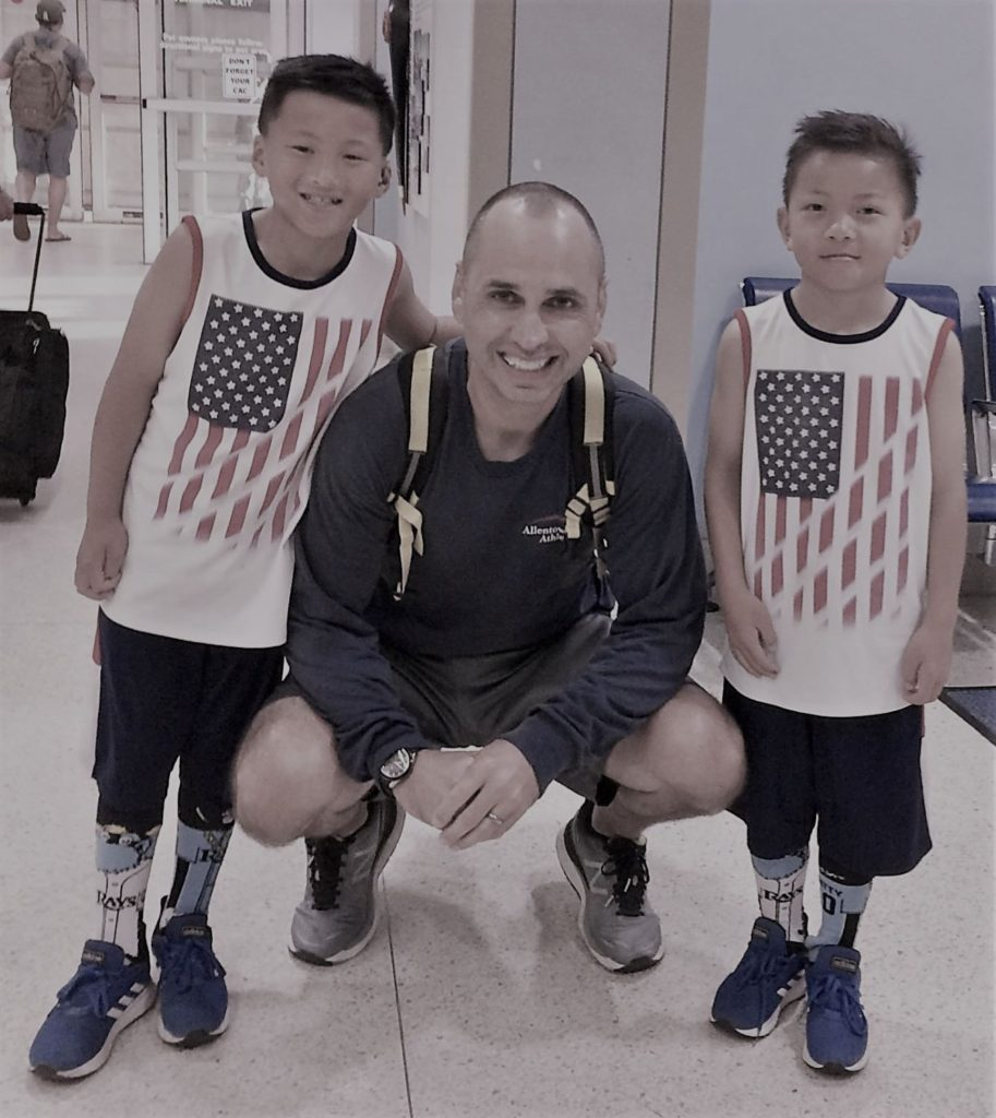 Jeffrey Murse and his two sons