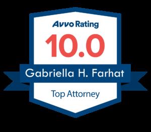 avvo rating top attorney 10.0 logo
